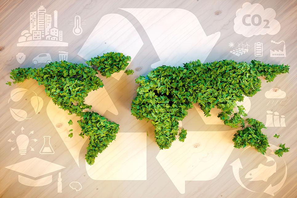KA Coverings con el medioambiente - Nuestra misión final es encontrar elementos totalmente reciclables